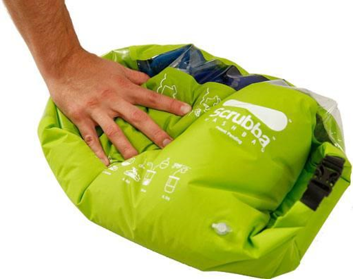 Scrubba Portable Laundry System Wash Bag